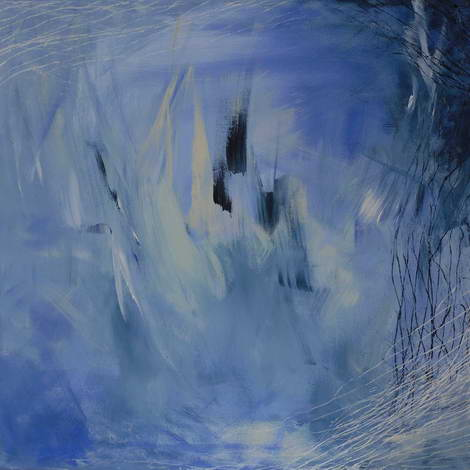 Eisland, 60x60cm