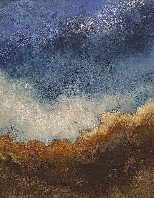 Wolkental, 50x40cm